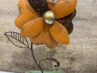 Rustic Metal Flower