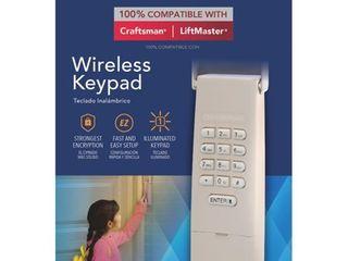 Chamberlain 940EV P2 White Garage Door Wireless Keypad