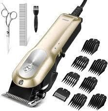 OMORC Dog Grooming Kit  Professional High Power Dog Clippers for Thick Heavy Coats low Noise Heavy Duty Dog Grooming Clippers Pet Clippers Trimmer  Small   large Dog Cat Pet