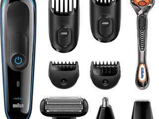 Braun Mgk3080 Men s Beard Trimmer hair Clipper  9 in 1 Precision Trimmer  Ultimate Precision for Any Beard Style