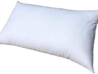 Pillowflex 14x36 Inch Premium Polyester Filled Pillow Form Insert   Machine Washable   Oblong Rectangle   Made in USA