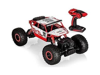 Top Race Remote Control Car for Boys  RC Monster Trucks  RC Cars for Adults and Boys  Remote Control Truck  RC Car   Truck 2 4Ghz Transmitter  4WD Off Road Great Gift for All Ages   TR 130