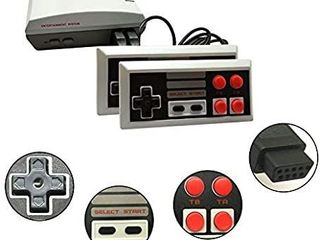Old Arcade Classic Retro Video Game Console Built in 620 Games Video Handheld Game Playeri1 4AV Connection  8 Bit