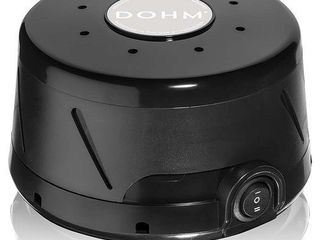 Yogasleep Dohm Classic  Black  The Original White Noise Machine   Soothing Natural Sound from a Real Fan   Noise Cancelling   Sleep Therapy  Office Privacy  Travel   For Adults  Baby   101 Night Trial