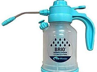 Flo Master by Hudson 35000 Brio Handheld Sprayer  Clear   Blue