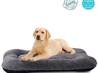 ANWA Puppy Dog Bed Small Dogs  Washable Dog Crate Bed Cushion  Dog Crate Pad Small Dogs 24 INCH
