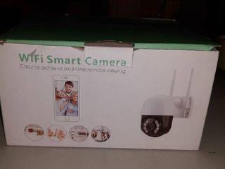 Pan Tilt Outdoor Security Camera 1080P Home WiFi IP Camera  Pan Tilt Dome Surveillance Cam  Two Way Audio Motion Detection 196ft Night Vision Onvif Waterproof CCTV Camera
