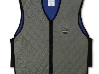 Ergodyne Chill Its 6665 Evaporative Cooling Vest   Gray  XX large
