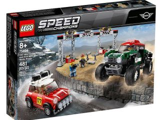 lEGO Speed Champions 1967 Mini Cooper S Rally and 2018 MINI John Cooper Works Buggy 75894 Building Kit  481 Pieces
