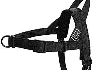 Didog Mesh Padded Escape Proof Dog Vest Harness No Pull Dog Harness for Walking Training Medium large Dogs Black M Size