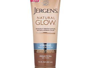 Jergens Natural Glow   Firming Daily Moisturizer Medium to Tan Skin Tones 7 5oz