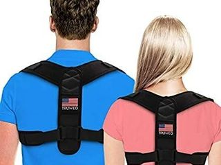 Posture Corrector for Men and Women   Adjustable Posture Back Brace for Upper and lower Back Pain Relief Breathable Back Straightener from Neck  Back and Shoulder  Universal