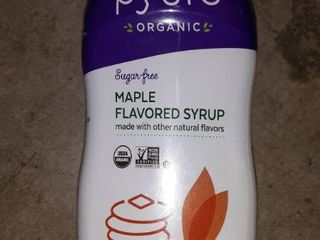 PYURE ORGANIC MAPlE FlAVORED SYRUP  14 Fl OZ
