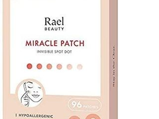 Rael Acne Pimple Healing Patch   Absorbing Cover  Invisible  Blemish Spot  Hydrocolloid  Skin Treatment  Facial Stickers  Two Sizes 10mm   12mm  Blends in with skin  96 Count