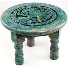 VrindaAr Round Tree of life Altar Table