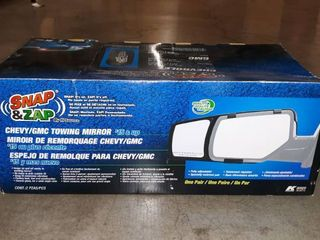 80920   Fit System 15 17C ustom Fit Towing Mirror   Chevrolet Suburban  Tahoe   Gmc Yukon Driver Side   Passenger Side