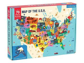Map of the U S A  Puzzle