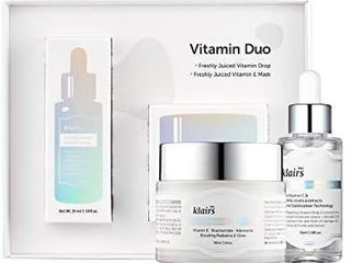 Dear Klairs  Vitamin Duo Speical limited Set  Holiday Gift Set  2 Skin Care Products  Vitamin Drop  E mask