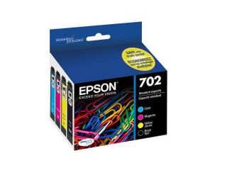 Epson T702120 BCS DURABrite Ultra Black and Color Combo Pack Standard Capacity Cartridge Ink
