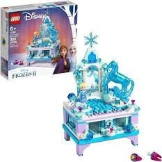 lego Disney Frozen II Elsa s Jewelry Box Collection
