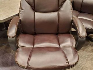 Brown leather Computer Chair