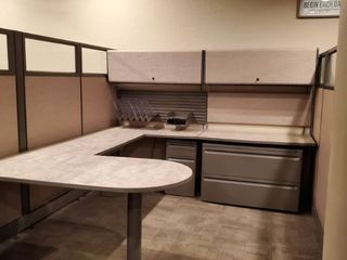 17  Herman Miller Action Office Panel System Cubicles  All Connected