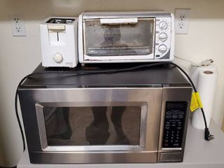Microwave  Toaster  Toaster Oven