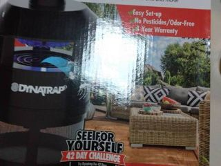 Dynatrap 1 4 Acre Black Indoor and Outdoor Insect Trap