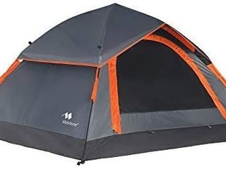 Mobihome 3 Person Tents for Camping  Instant Backpacking Quick Tent Easy Set Up  Portable 2 Person Dome Tent for Hiking   Mountain Outdoor  with Rainfly and Ventilated Top Mesh   7  x 6 3