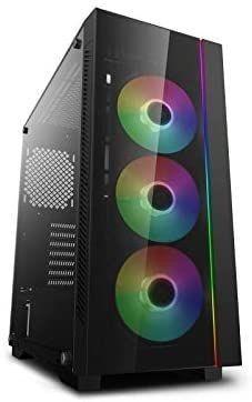 DeepCool ATX Mid Tower 3pcs Add RGB Cooling Fan pre Install Support E ATX MB Cases MATREXX 55 V3 ADD RGB 3F