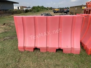 (1) Large Poly Barricade, 76 IN X 43 IN