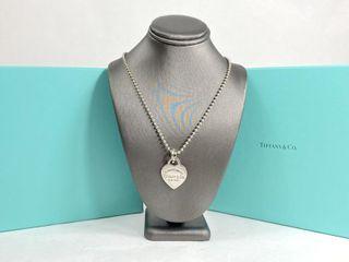 Tiffany & Co Sterling Heart 18