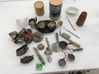 asst vintage items
