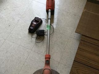 chargeable weed eater, works