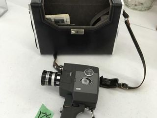 vintage movie camera w/case