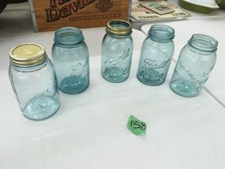 blue ball/atlas canning jars