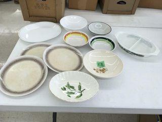 asst bowls/plates