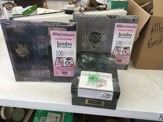 photo albums/box
