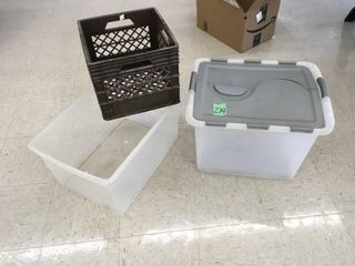 storage tubs/crate