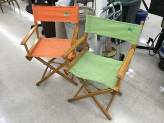 retro director chairs