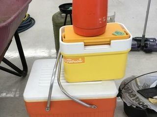 retro coolers, water jug