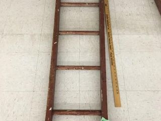 "wood ladder, 49"" long"