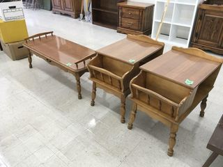 matching end tables, coffee table