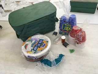 picnic basket w/contents