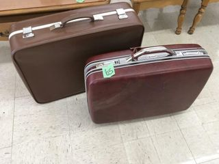 samonsite/wallstreet suitcases