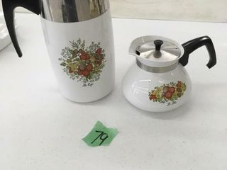 corning ware coffee pots