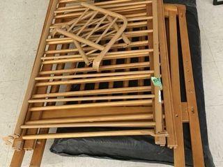 vintage baby bed w/mattress