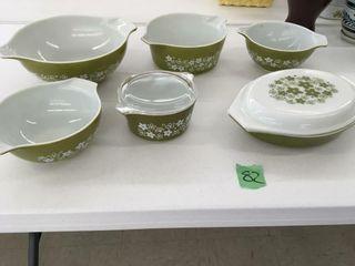 retro pyrex bowls