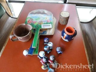 Painted Paddles, Broncos Cup and Small