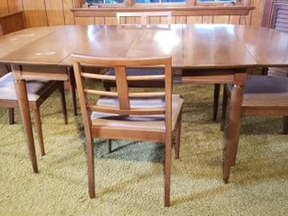 MCM TABLE & CHAIRS